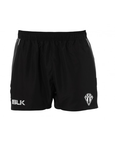 TRAINING SHORT BLK SCUF PAR AKKA SPORTS