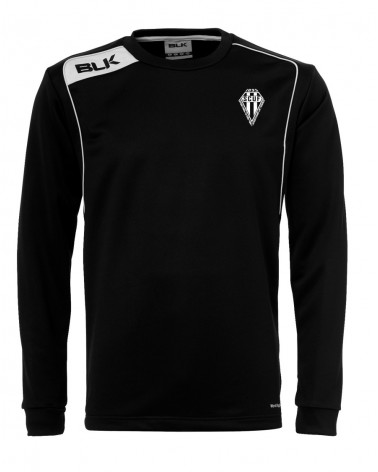 ROUND NECK SWEAT BLK SCUF PAR AKKA SPORTS