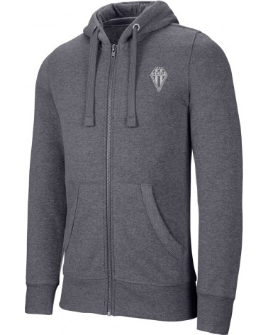 Sweat Capuche chiné zippé H/F SCUF - Akka sports