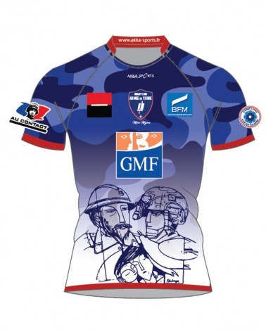 Maillot rugby dom RCAT - Akka sports