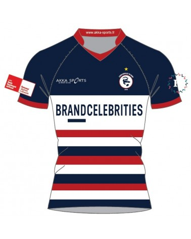 Maillot rugby sublimé Elite CROCODILES NETWORK FFSE - Akka sports