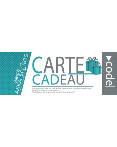 Carte cadeau - Akka-sports