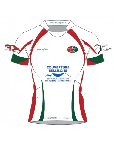 MAILLOT REPLICA ELITE RUGBY CLUB BELLILOIS PAR AKKA SPORTS