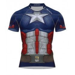 Maillot rugby sublimé Elite Captain America Bonkers Stade Poitevin - Akka sports