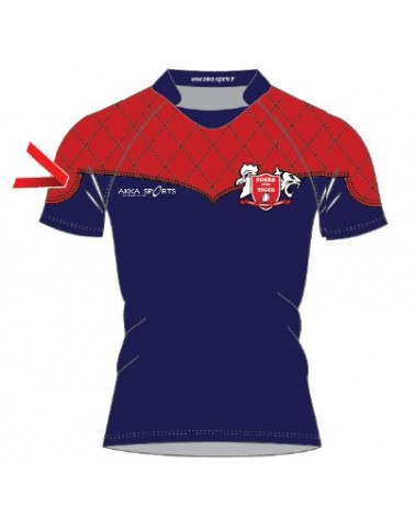 Maillot rugby sublimé Elite FFSE Cocks Of The Tiger - Akka sports