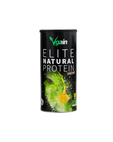 Elite Natural Protein - Goût Cacao - 750g - Vgain