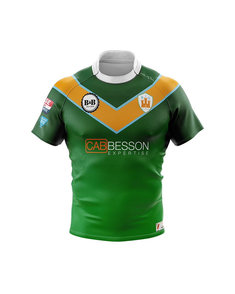 Maillot 2k20 Big de Vincennes - Akka sports