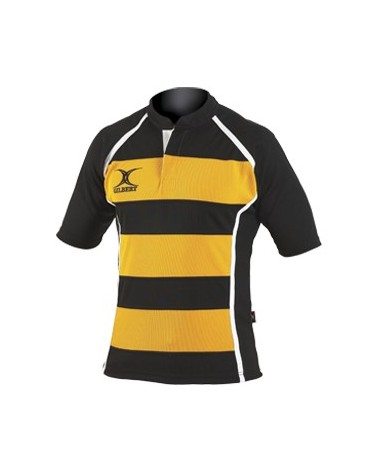 Maillot rugby match Xact rayé - Gilbert