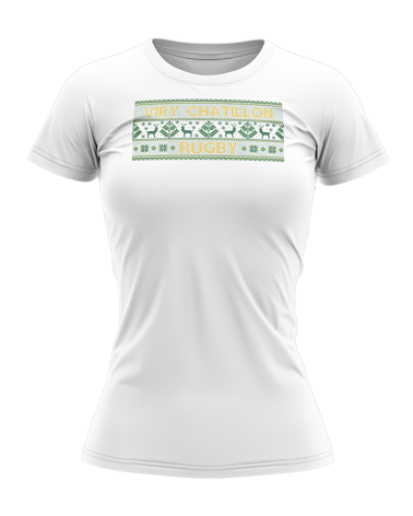 Tee-shirt Lifestyle Noël Sweater FEMME VIRY - Akka Sports