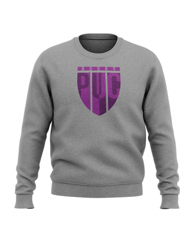 Sweat Blason PUC RUGBY - Akka Sports gris